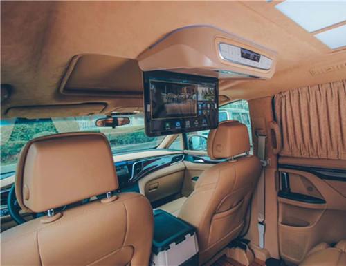 西安别克GL8商务车航空座椅,木地板,内饰改装,西安汉枫