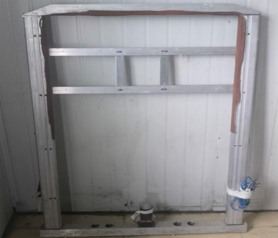 房车电动隔屏改装