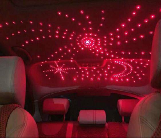 汽车内饰顶灯改装